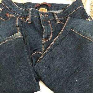 Domaine dark denim stretch jeans size 5